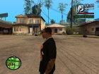 """Футболка с знаком зодиака """"Водолей"""" для GTA San Andreas вид сзади слева"""