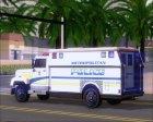 Enforcer Metropolitan Police for GTA San Andreas top view