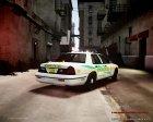 Crown Victoria Police Interceptor для GTA 4 вид сзади слева