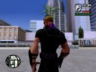 Hawkeye without weapons for GTA San Andreas side view