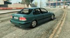 Honda Civic 97 EA Edition для GTA 5 вид сверху