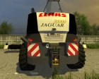 Claas Jaguar 980 Black Edition v2.0 for Farming Simulator 2013 right view