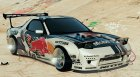 Mazda RX7 Rocket Bunny FD3 MadBULL v1.2 for GTA 5 top view