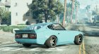 Datsun 240Z for GTA 5 top view