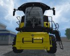 New Holland CR 90.75 Yellow Bull для Farming Simulator 2015 вид слева