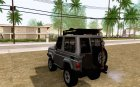 Toyota FJ70 2011 Off Road for GTA San Andreas rear-left view