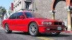 BMW 740i E38 Shadow Line 1.0 для GTA 5 вид изнутри