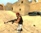 AL-Qaida Guierilla W/ Tattoo for Counter-Strike Source top view