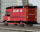 Boxburg - Metro Fire Rescue 69 for GTA San Andreas rear-left view