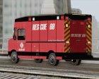 Boxburg - Metro Fire Rescue 69 для GTA San Andreas вид сзади слева