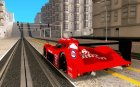 Toyota GT-One TS020 Le Mans 1999 for GTA San Andreas rear-left view