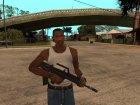 QBZ-95 для GTA San Andreas вид сбоку