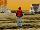 Marty Mcfly 1980 для GTA San Andreas вид сбоку
