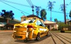 Lada Granta - ВАЗ 2190 GOLD for GTA San Andreas top view