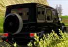 Mercedes-Benz G65 2013 Stock Body для GTA San Andreas вид изнутри