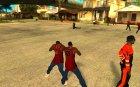 Много CJ'ев for GTA San Andreas top view
