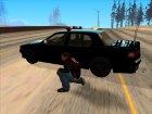 Машина полиции 2-го уровня розыска из NFS MW v2 for GTA San Andreas rear-left view
