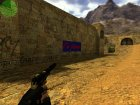 "Логотип ""I'm tawer"" for Counter-Strike 1.6 left view"