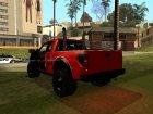 """Ford F-150 """"Новогодний"""" для GTA San Andreas вид сбоку"""
