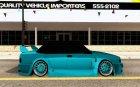Tofas Dogan SLX DRIFT для GTA San Andreas вид изнутри