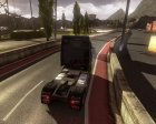 House & Truck Testing Area v3.0 for Euro Truck Simulator 2 back view