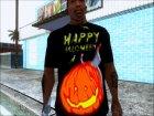 "Футболка ""Happy Halloween"" for GTA San Andreas rear-left view"