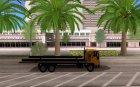 DFT30 Dumper Truck для GTA San Andreas вид изнутри