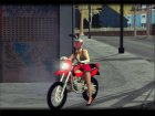 Honda XR 250R for GTA San Andreas left view