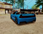 Lamborghini Infernus v2.0 by BlueRay для GTA San Andreas вид справа
