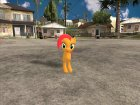 Babs Seed (My Little Pony) для GTA San Andreas вид сзади слева