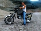 Moto from Playerunknow´s Battlegrounds V.1 для GTA San Andreas вид сзади слева