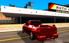 Dodge Dakota tuning для GTA San Andreas вид сзади слева