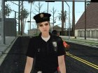Female Police from GTA 5 for GTA San Andreas side view