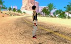 Mirrors Edge Faith для GTA San Andreas вид сверху