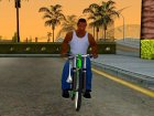 NOX Cycles Mountainbike для GTA San Andreas вид сбоку