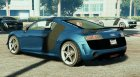2012 Audi R8 V10 New for GTA 5 rear-left view