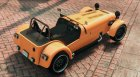 2008 Caterham R500 0.5 for GTA 5 top view