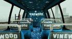 TMZ Tourbus для GTA 5 вид изнутри