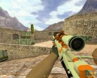 AWP Azimov из CS GO for Counter-Strike 1.6 left view