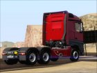 Mercedes-Benz Actros MP4 Stream Space black  6x4 V2.0 для GTA San Andreas вид изнутри
