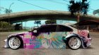 BMW M3 E46 GTR Golden Time Itasha для GTA San Andreas вид сверху