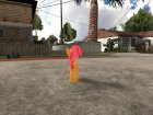 Babs Seed (My Little Pony) для GTA San Andreas вид сбоку