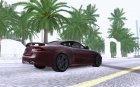 Jaguar XKR-S for GTA San Andreas rear-left view