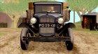 ГАЗ-ААА 1934 для GTA San Andreas вид сверху