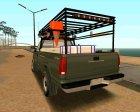 Chevrolet Silverado Military Utility Truck 1990 для GTA San Andreas вид сверху