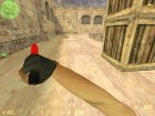Штык нож кровавая паутина для Counter-Strike 1.6 вид сзади слева