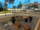 Современная армия v2.0 для GTA San Andreas вид сзади