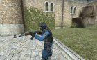 Blue Police CT for Counter-Strike Source top view