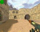 AK-47 Поверхностная закалка для Counter-Strike 1.6 вид сверху