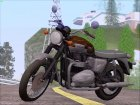 Motorcycle Triumph from Metal Gear Solid V The Phantom Pain for GTA San Andreas left view